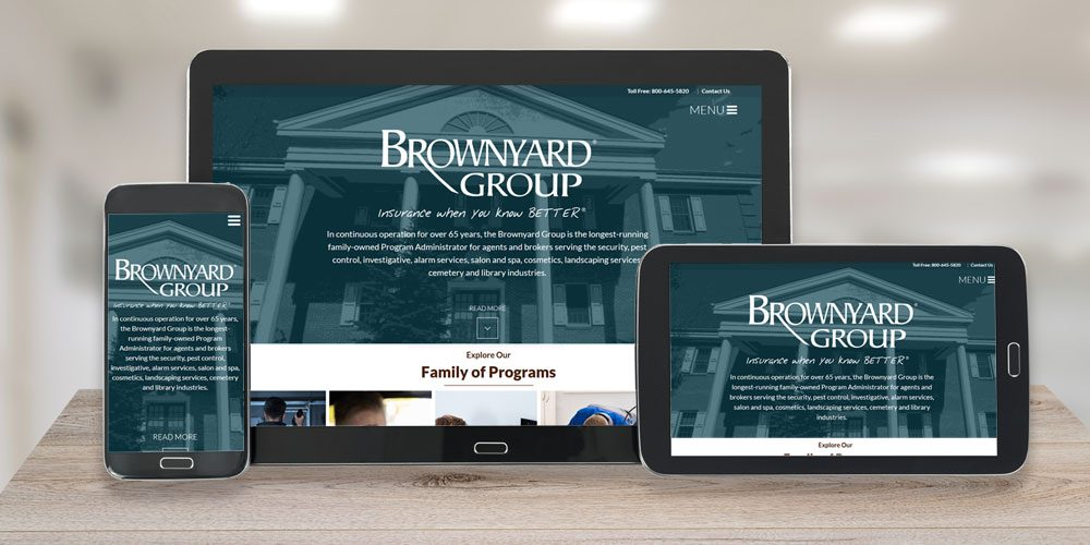 Launch of New Brownyard Website