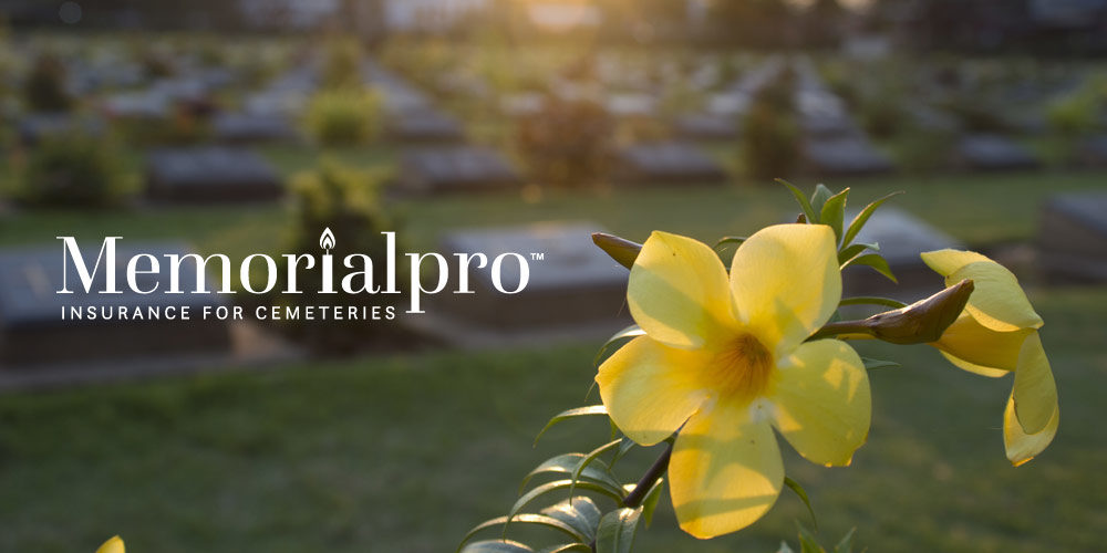 Memorial Pro insurance for cemeteries